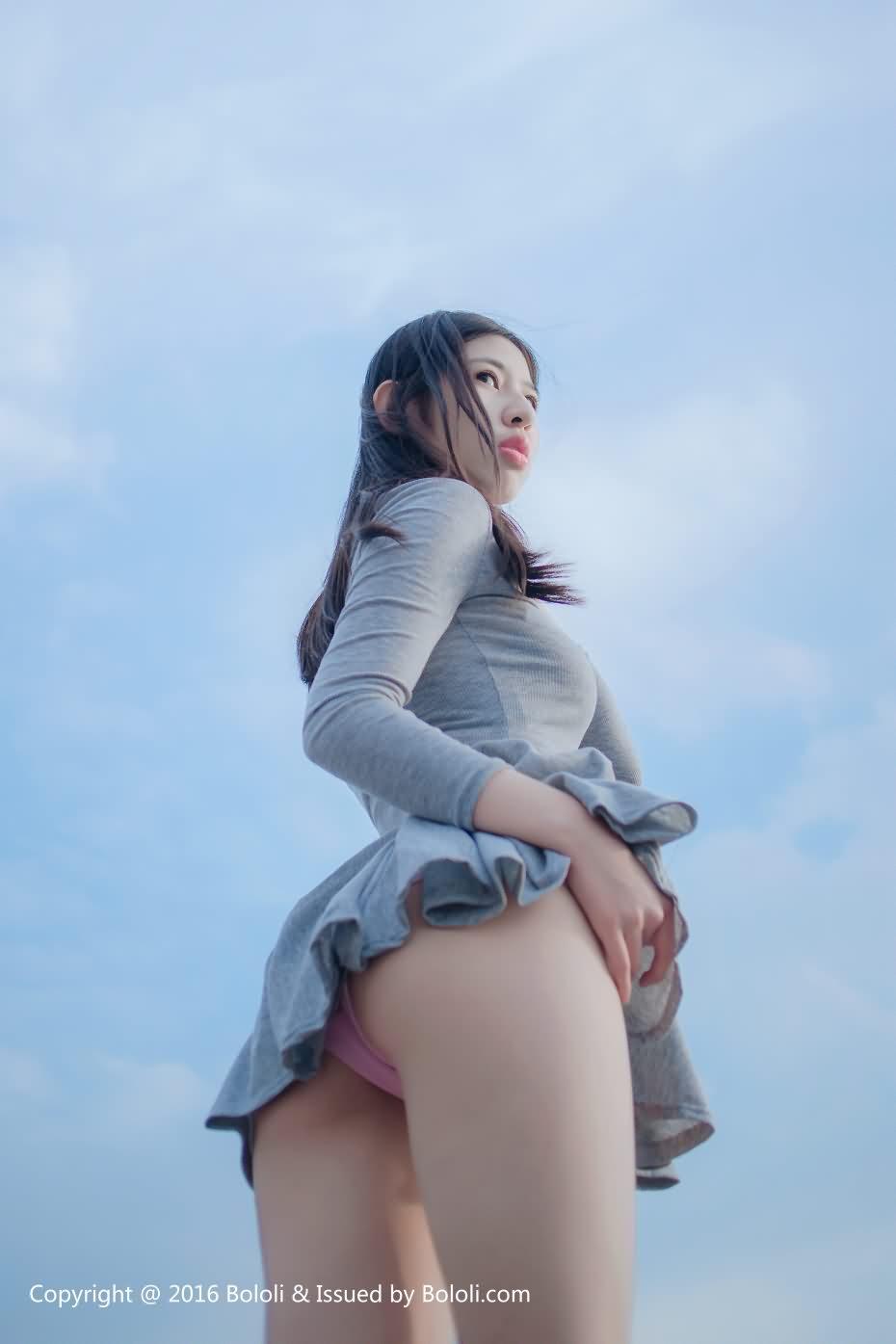 [BoLoli波萝社] Vol.103 郁郁 2017.08.16 [40+1P-128M]