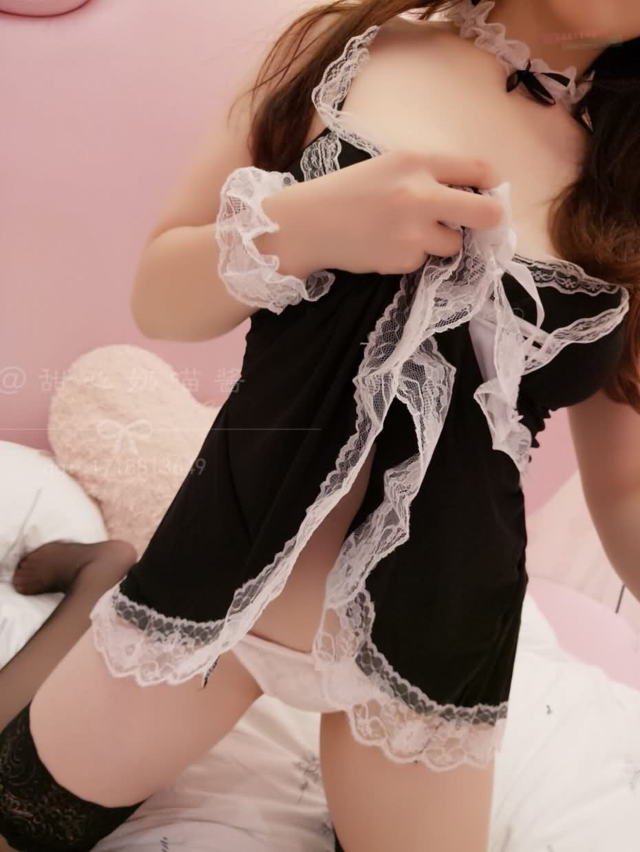 bc8d467593a5522a0a98f1ae1b6ca521 - 甜心奶猫酱(甜甜的小奶猫) - 女仆装(会员版)视图 28P/2V