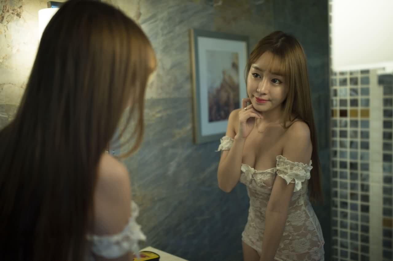 网红模特王语纯 407P